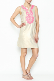 Julie Brown NYC Golden Gate Shift Dress - Side cropped