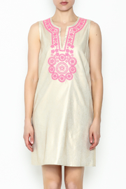 Julie Brown NYC Golden Gate Shift Dress - Front full body
