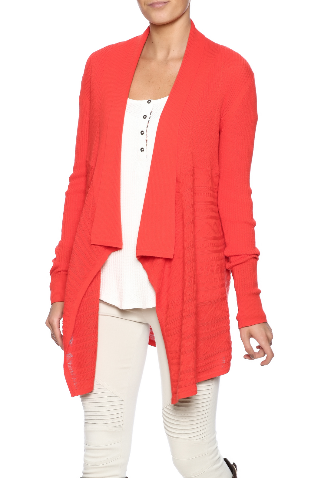 Julie Brown NYC Jolie Open Cardigan from Pennsylvania by Quelque ...