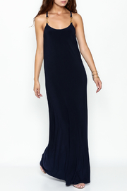 Julie Brown NYC Newport Navy Maxi Dress - Product Mini Image
