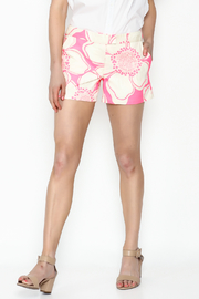 Julie Brown NYC Pink Hibiscus Shorts - Product Mini Image