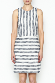 Julie Brown NYC Sailor Tweed Dress - Front full body