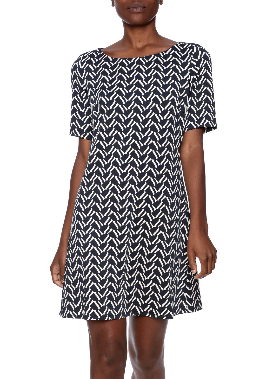 Julie Brown NYC Short Sleeve Dress - Front Cropped Image
