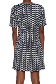 Julie Brown NYC Short Sleeve Dress - Back cropped