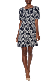 Julie Brown NYC Short Sleeve Dress - Front full body