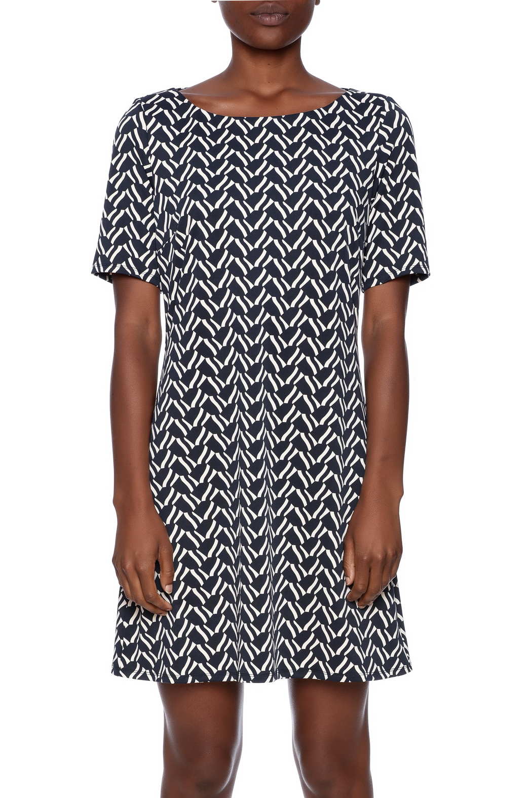 Julie Brown NYC Short Sleeve Dress - Side Cropped Image