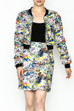 Julie Dorst Multi Faux Jacket - Product List Image