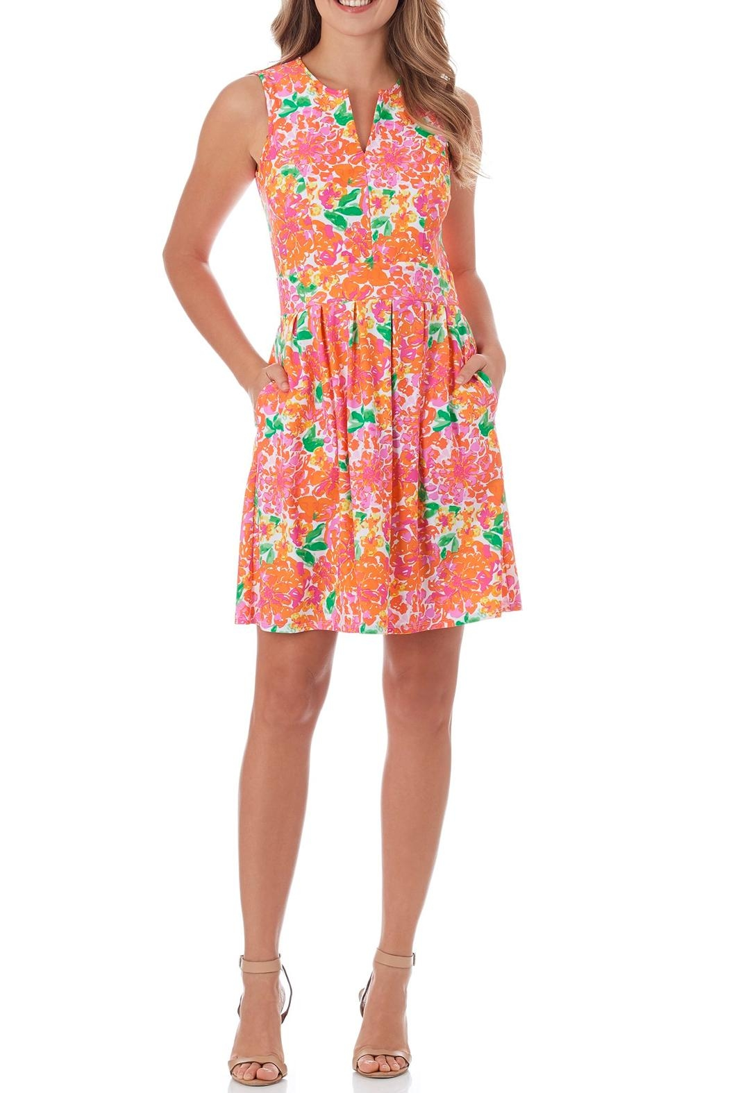Jude Connally Julie Fit-n-Flare Dress - Main Image