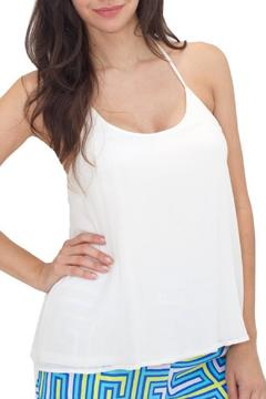 Julie Brown Designs Jonah Top Ivory - Product List Image