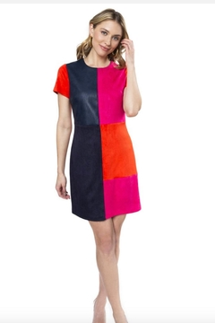 Julie Brown NYC Everest Block Dress - Alternate List Image
