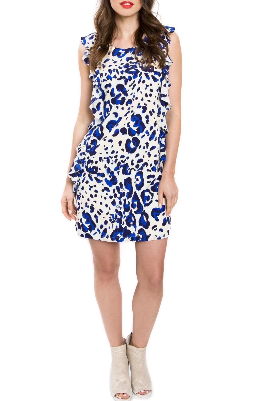 Julie Brown NYC Leah Ruffle Dress - Front Cropped Image
