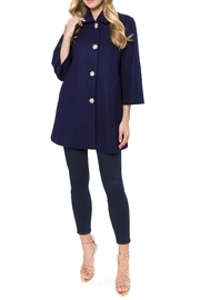 Julie Brown NYC Millie Jacket Royal-Blue - Product Mini Image