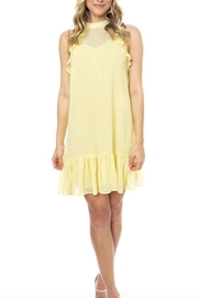Julie Brown NYC Mora Lemon Dress - Product Mini Image