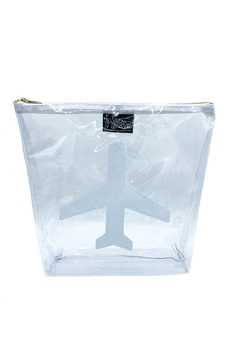 Julie Mollo Clear Airplane Clutch - Product List Image