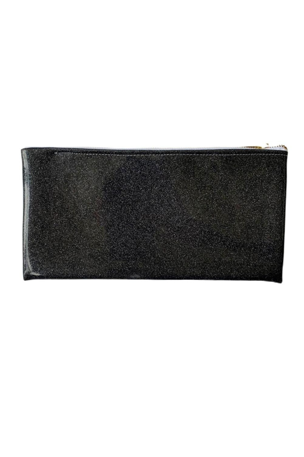 Julie Mollo Red Wine Clutch - Front Full Image