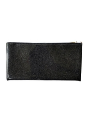 Julie Mollo Red Wine Clutch - Front full body