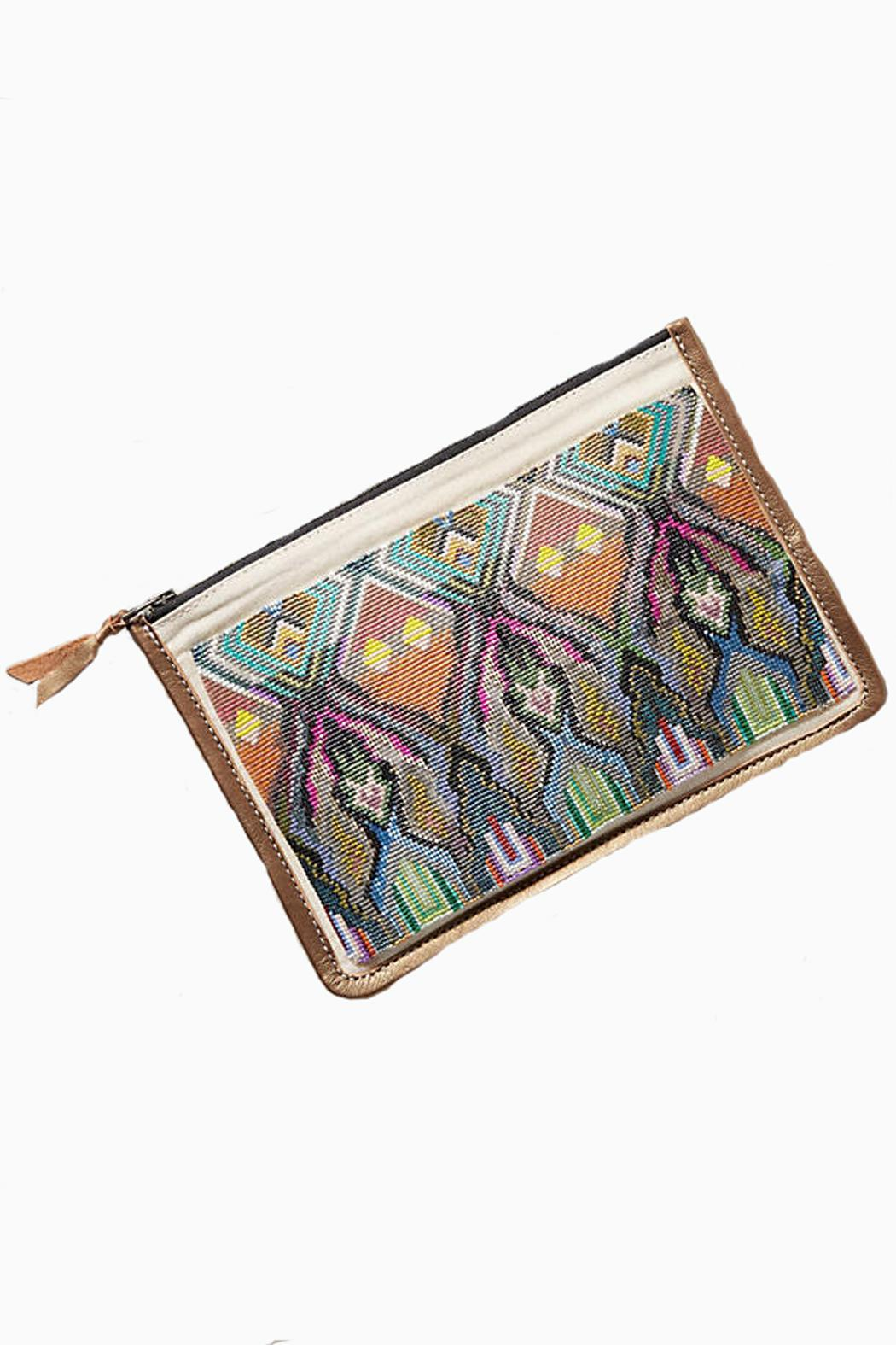 Julie Rofman Watu Beaded Clutch - Main Image