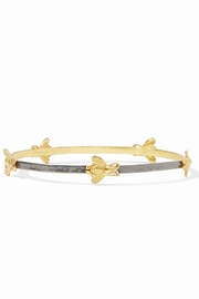 Julie Vos Bee Bangle Mixed-Metal - Product Mini Image