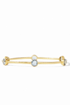 Julie Vos Milano Bangle-Azure Blue - Product List Image