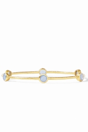 Julie Vos Milano Bangle-Chalcedony Blue - Product Mini Image