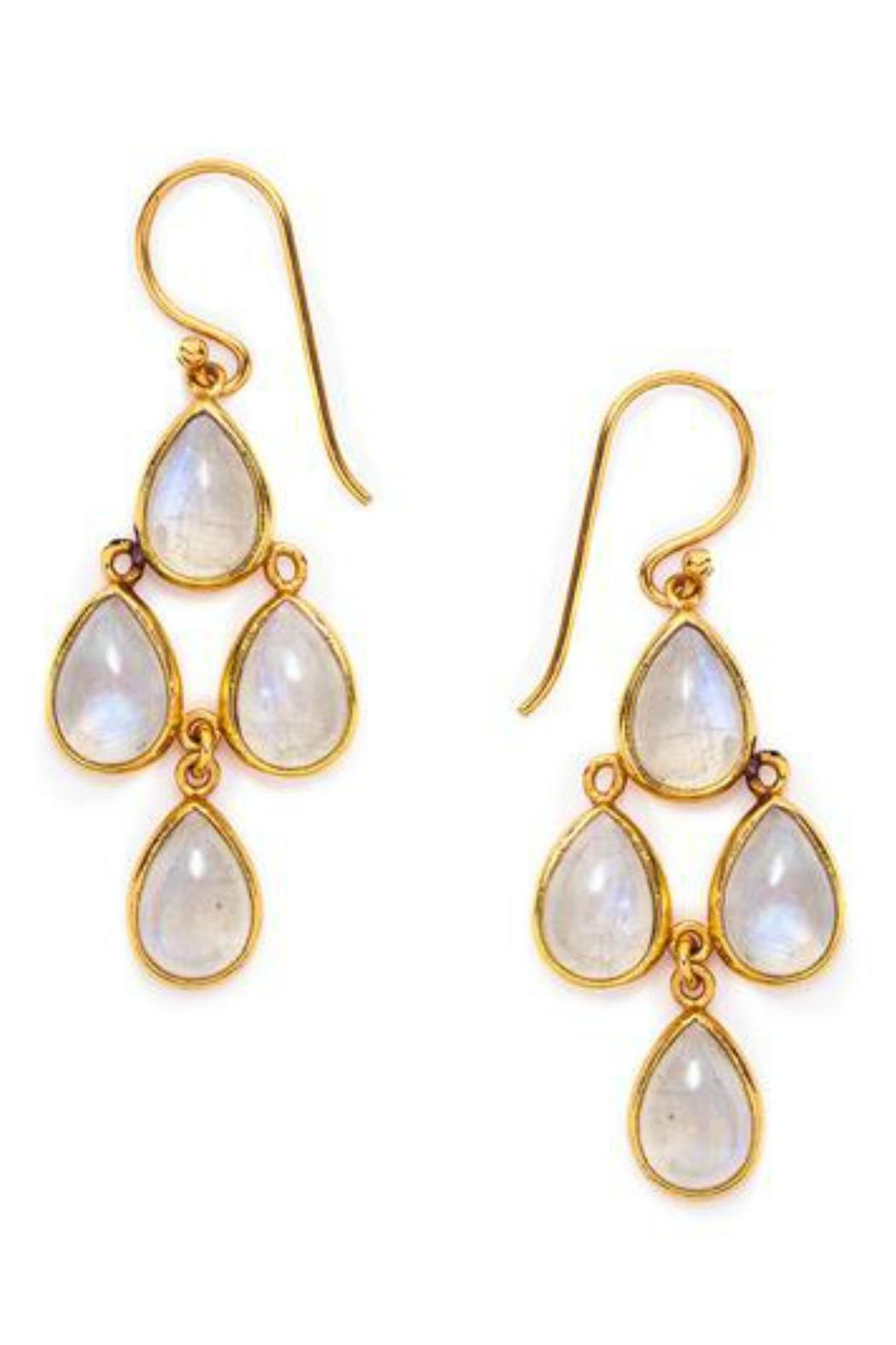 Julie Vos Petite Chandelier Earrings - Main Image