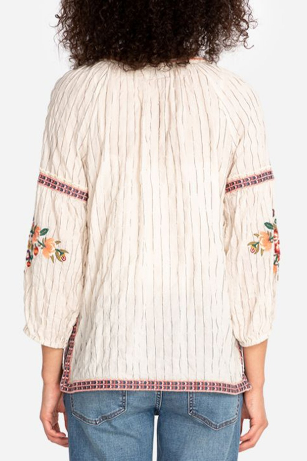 Johnny Was Juliene Blouse - Front Full Image