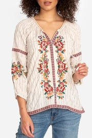 Johnny Was Juliene Blouse - Front cropped