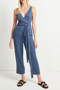 French Connection JULIENNE STRIPE JUMPSUIT - Product List Image