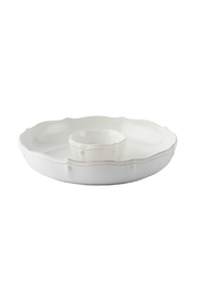 Juliska Chip Dip Platter - Front cropped