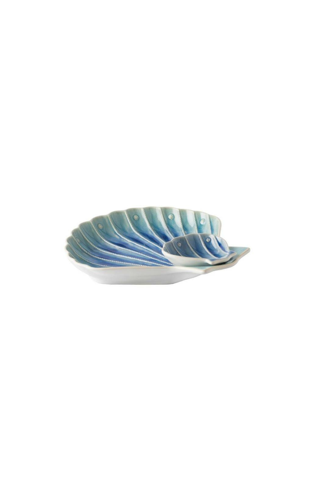 Juliska Shell Appetizer Server - Front Full Image
