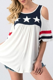 Imagine That July Fourth Top - Product Mini Image