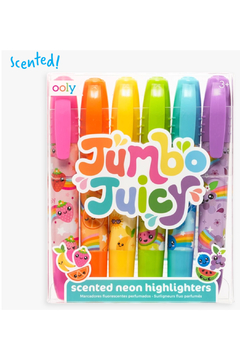 Ooly Jumbo Juicy Scented Neon Highlighters - set of 6 - Product List Image