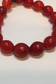Bella Beads Jumbo Red Tribal Beads from Africa - Product Mini Image