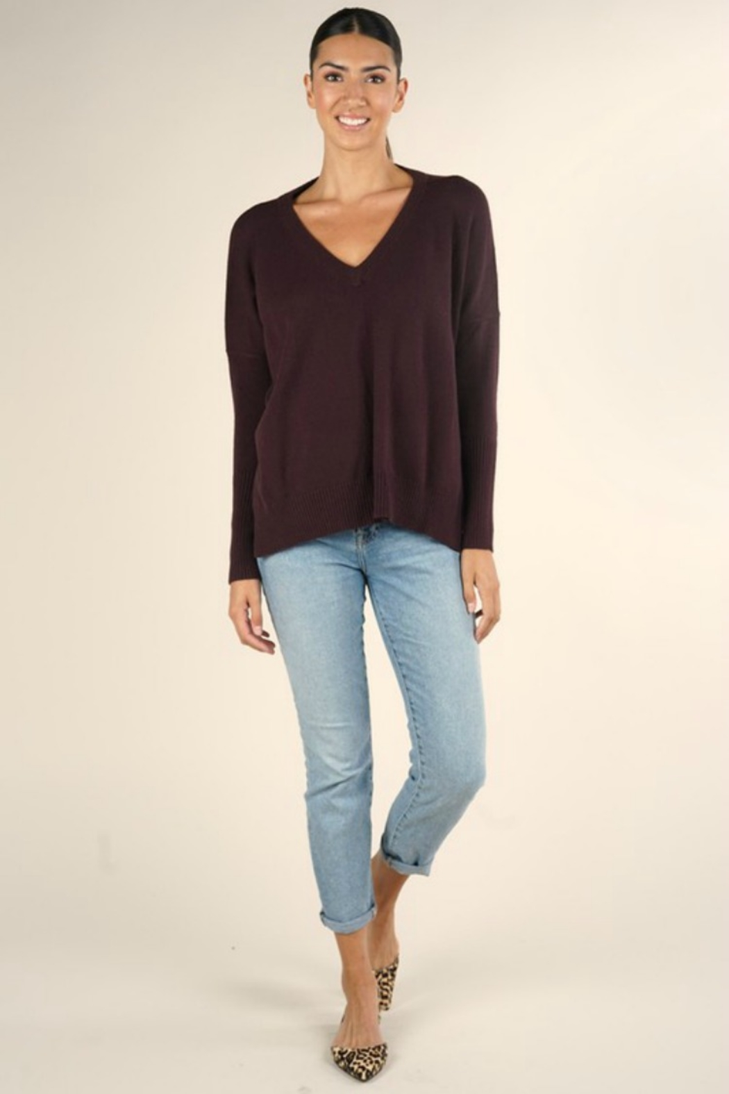Lovestitch  Jump In Sweater - Side Cropped Image
