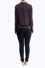 hotel particulier Jumper Cardigan - Side cropped