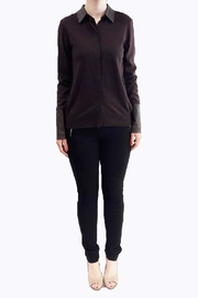 hotel particulier Jumper Cardigan - Front cropped