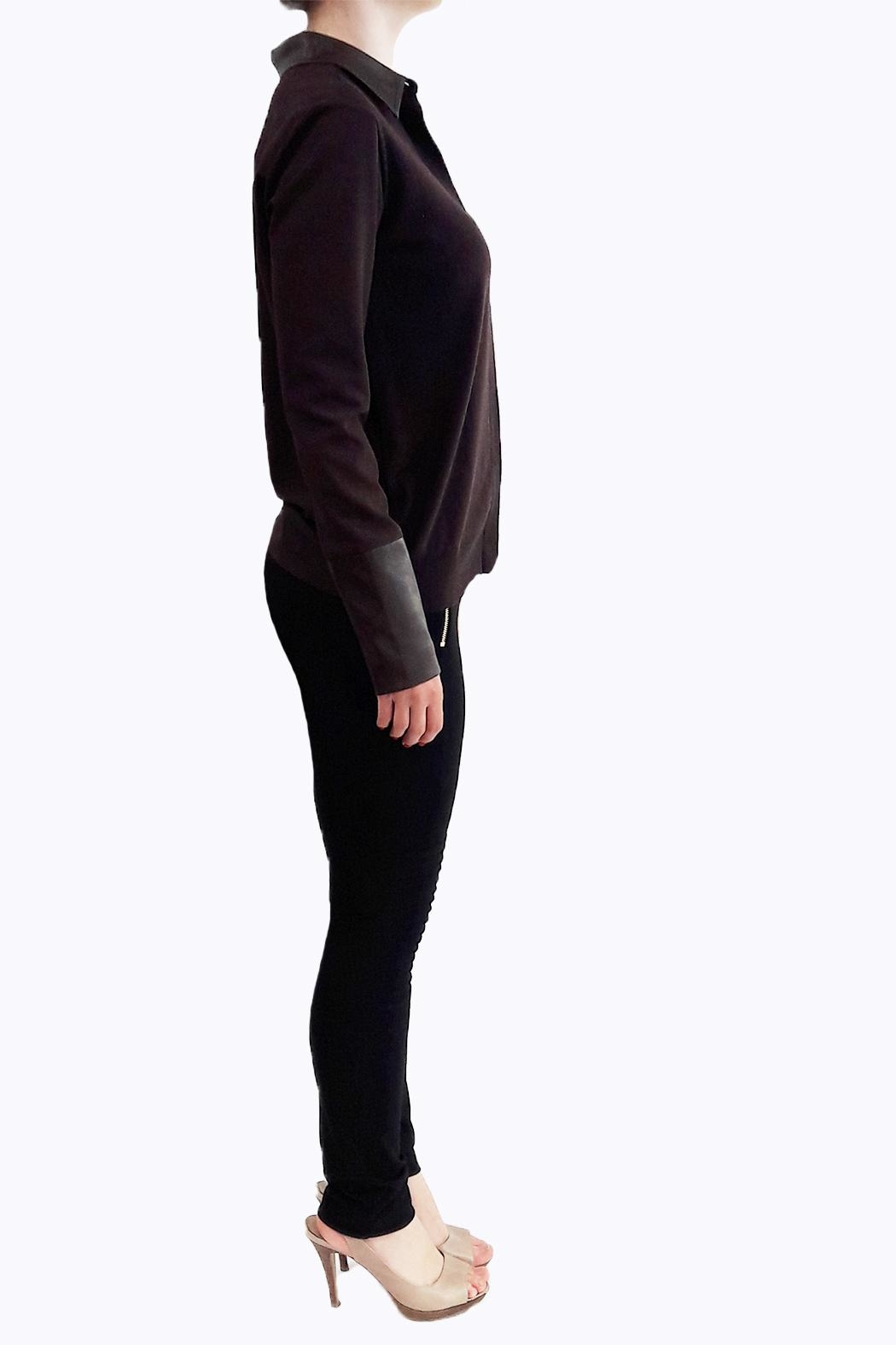 hotel particulier Jumper Cardigan - Front Full Image