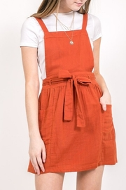 Very J Jumper Dress - Front cropped
