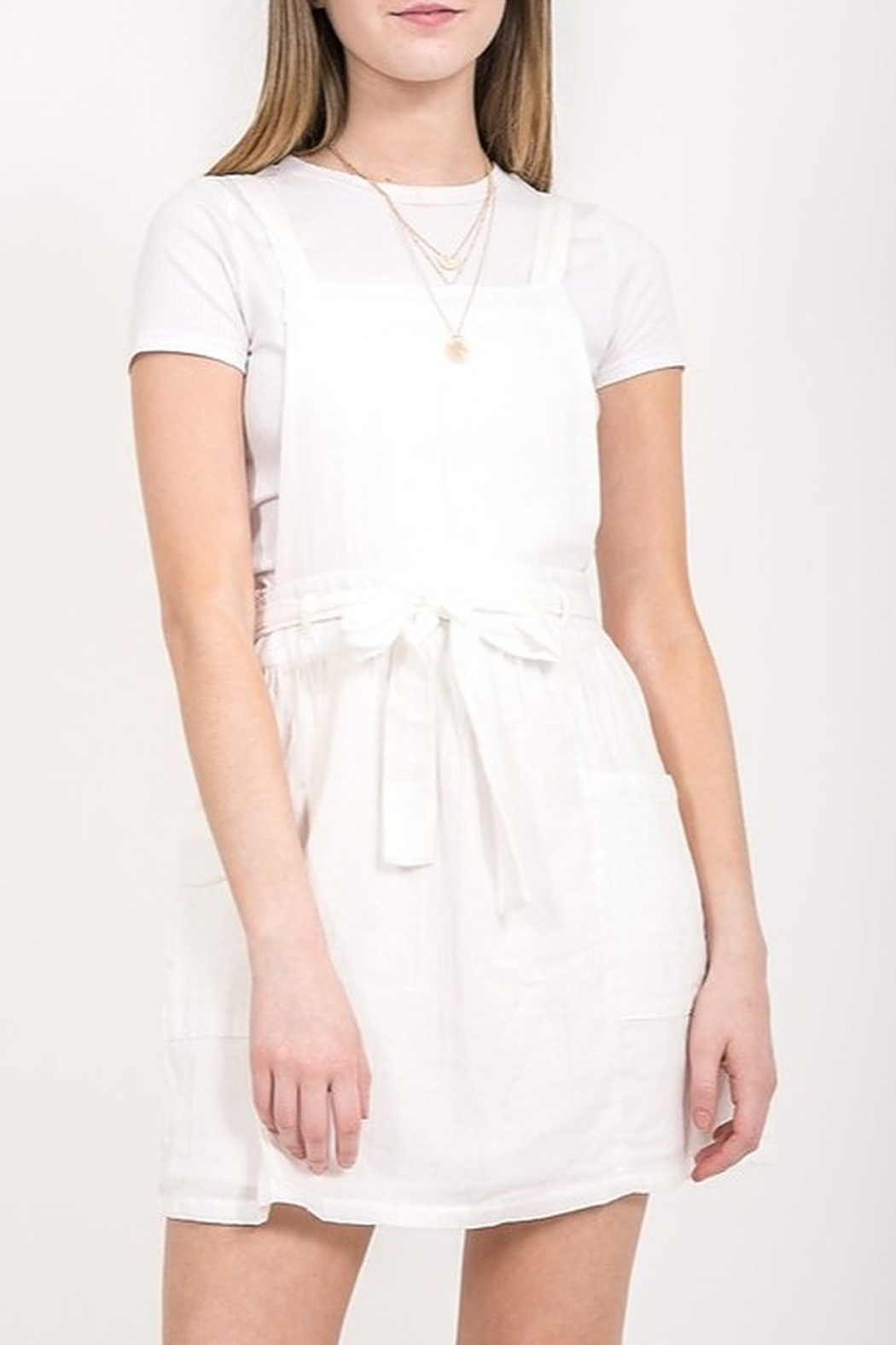 Very J Jumper Dress - Front Cropped Image