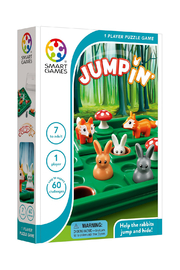 SmartGames Jumpin 1 Player Puzzle Game - Product Mini Image