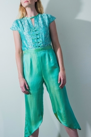 Dawn Sunflower Jumpsuit - Front cropped