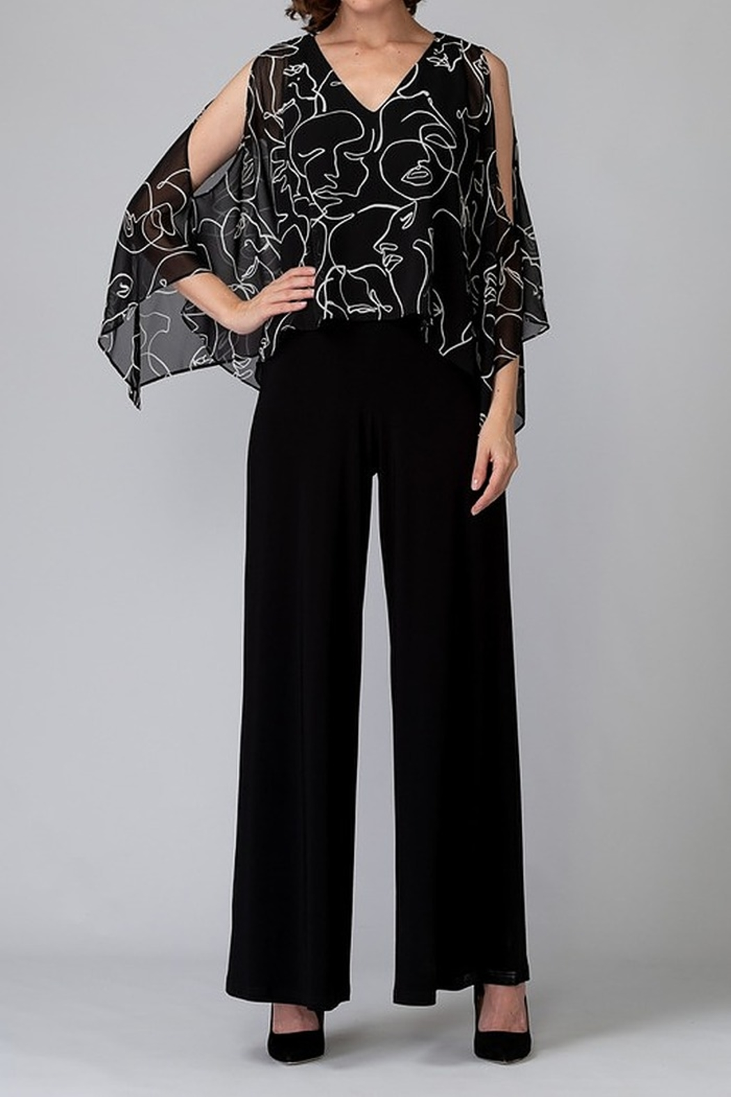 Joseph Ribkoff Jumpsuit - Front Cropped Image