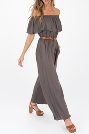 Others Follow  Jumpsuit in Gunmetal - Product Mini Image
