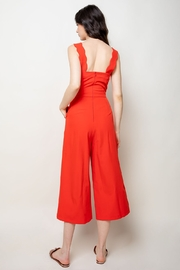 Thml Jumpsuit w Scallop Edge Detail - Side cropped