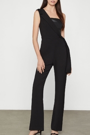 BCBG MAXAZRIA Jumpsuit With Faux Leather Trim - Product Mini Image
