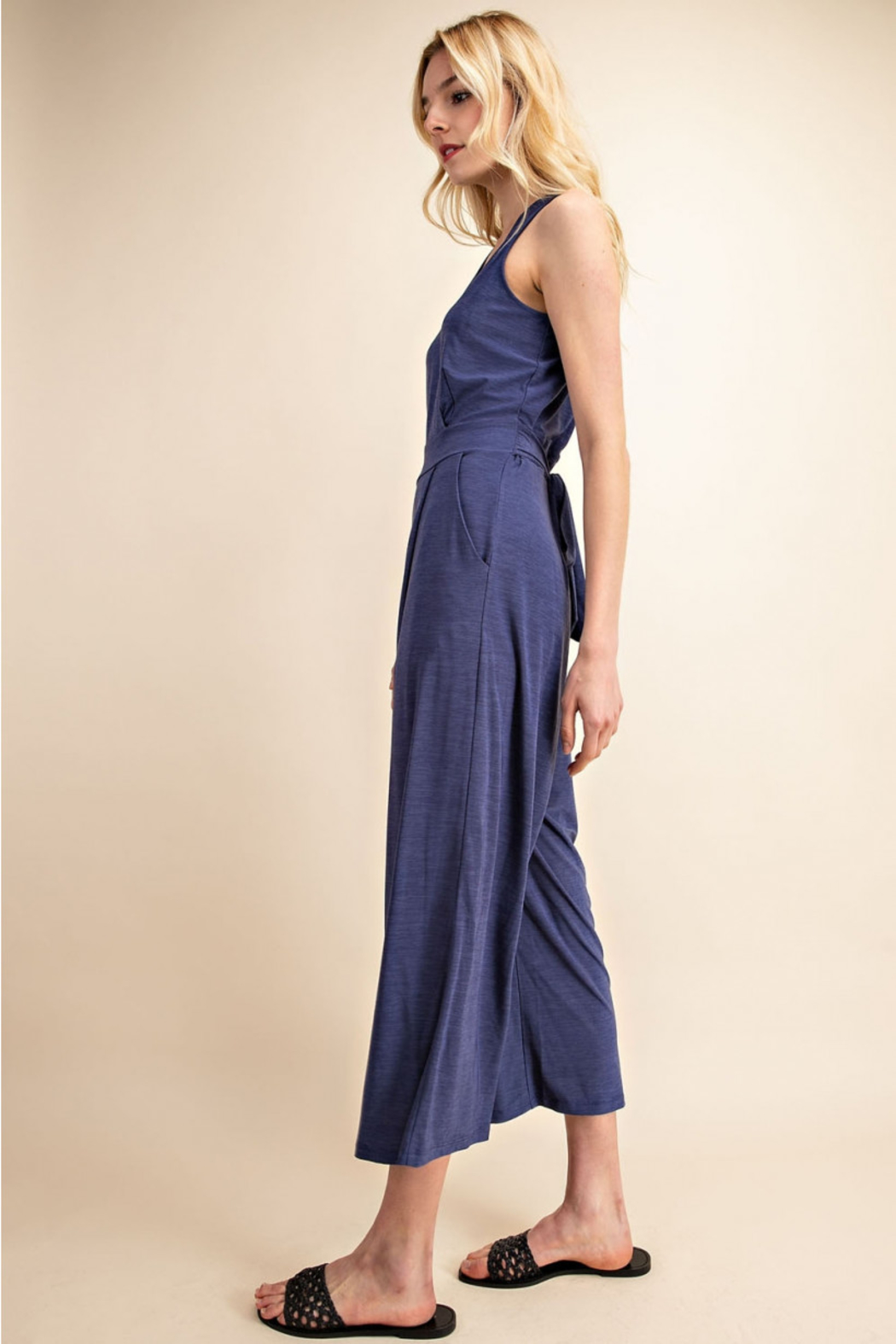Gilli  Jumpsuit with Tie waist - Side Cropped Image