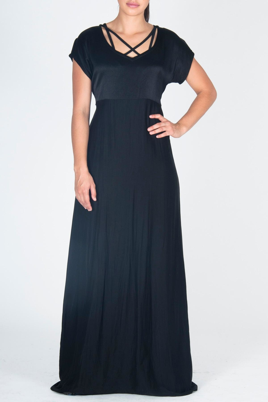 JUNA Maxi Cathedral Dress - Main Image