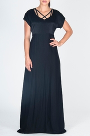 JUNA Maxi Cathedral Dress - Front cropped