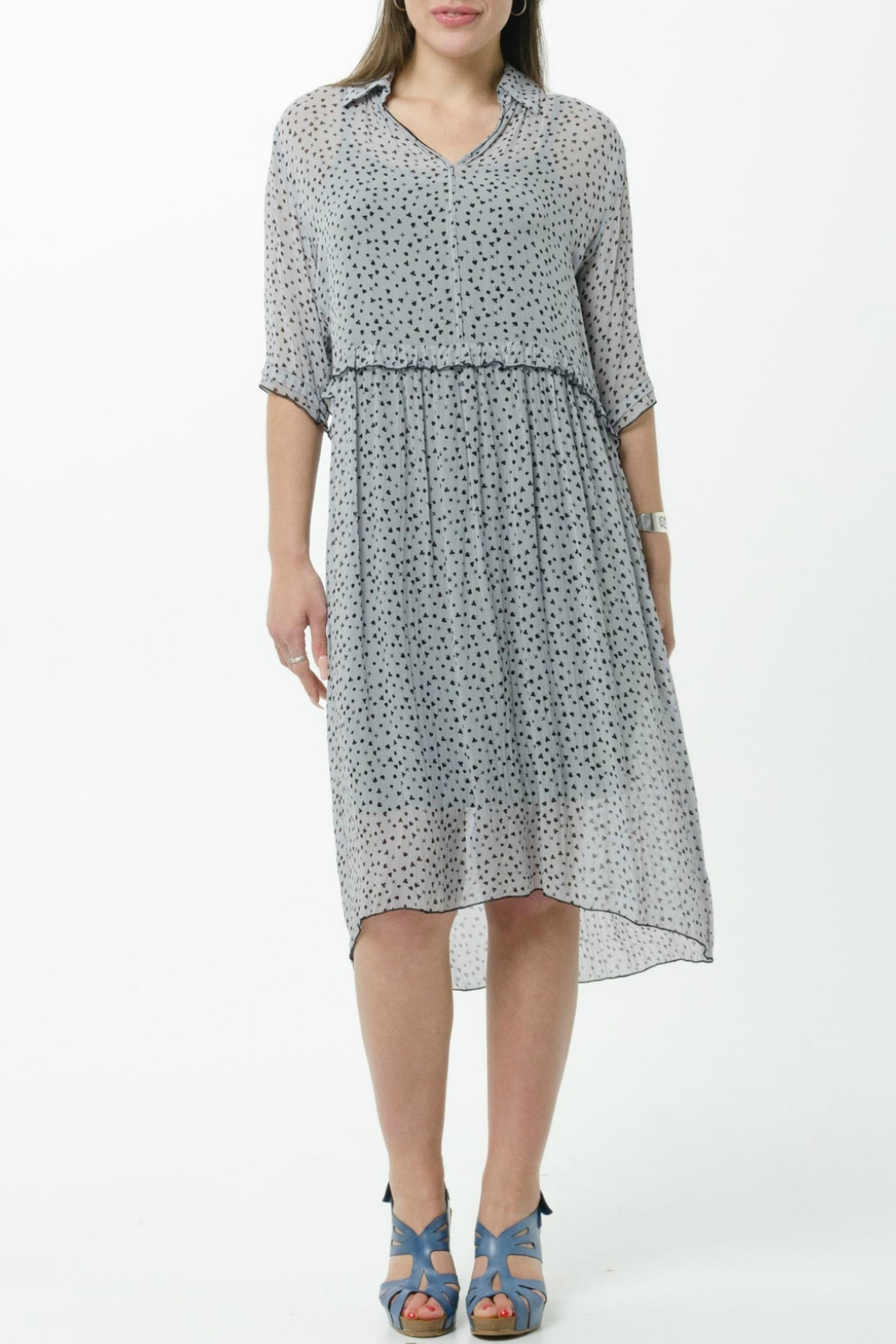JUNA Viscose  Print Dress - Main Image