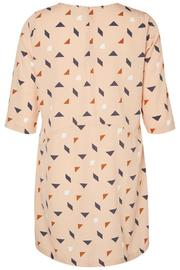 JUNAROSE Dress Graphic Print - Side cropped